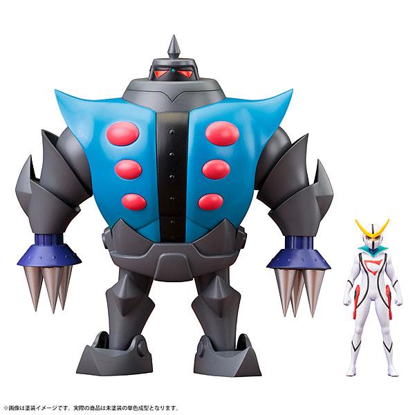 「昭和模型少年クラブ」 ツメロボット(キャシャーンミニフィギュア付き) 新造人間キャシャーン プラモデル