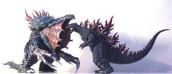 T's Facto ゴジラ GODZILLA vs ORGA レジンキャストキット 1