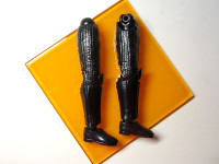 スター・ウォーズ「ダース・ベイダー」のプラモデル 脚